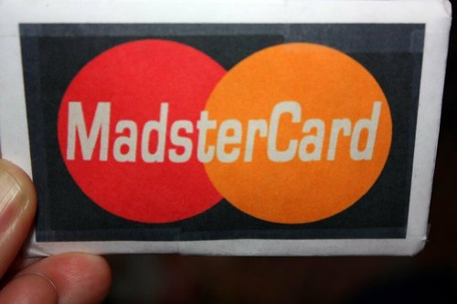 her very own MadsterCard