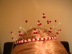 The second tiara I've ever made