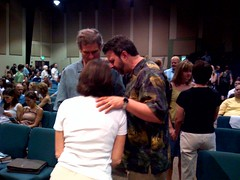 Kris Vallotton Praying After Service