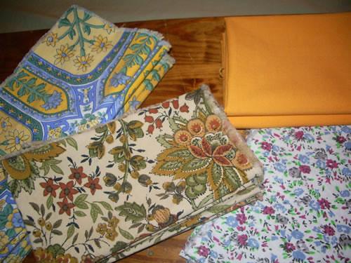 DAV thrifted fabric
