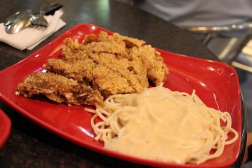 Big Daddy's Chicken with Creamy Pasta