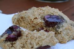 Whole Wheat Cherry Scones