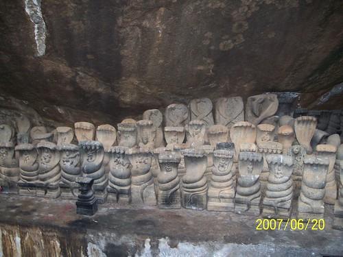lot of mini Kalinga narthanams
