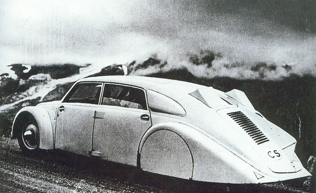 1934 Tatra 77 (via Avi_Abrams @ Flickr)