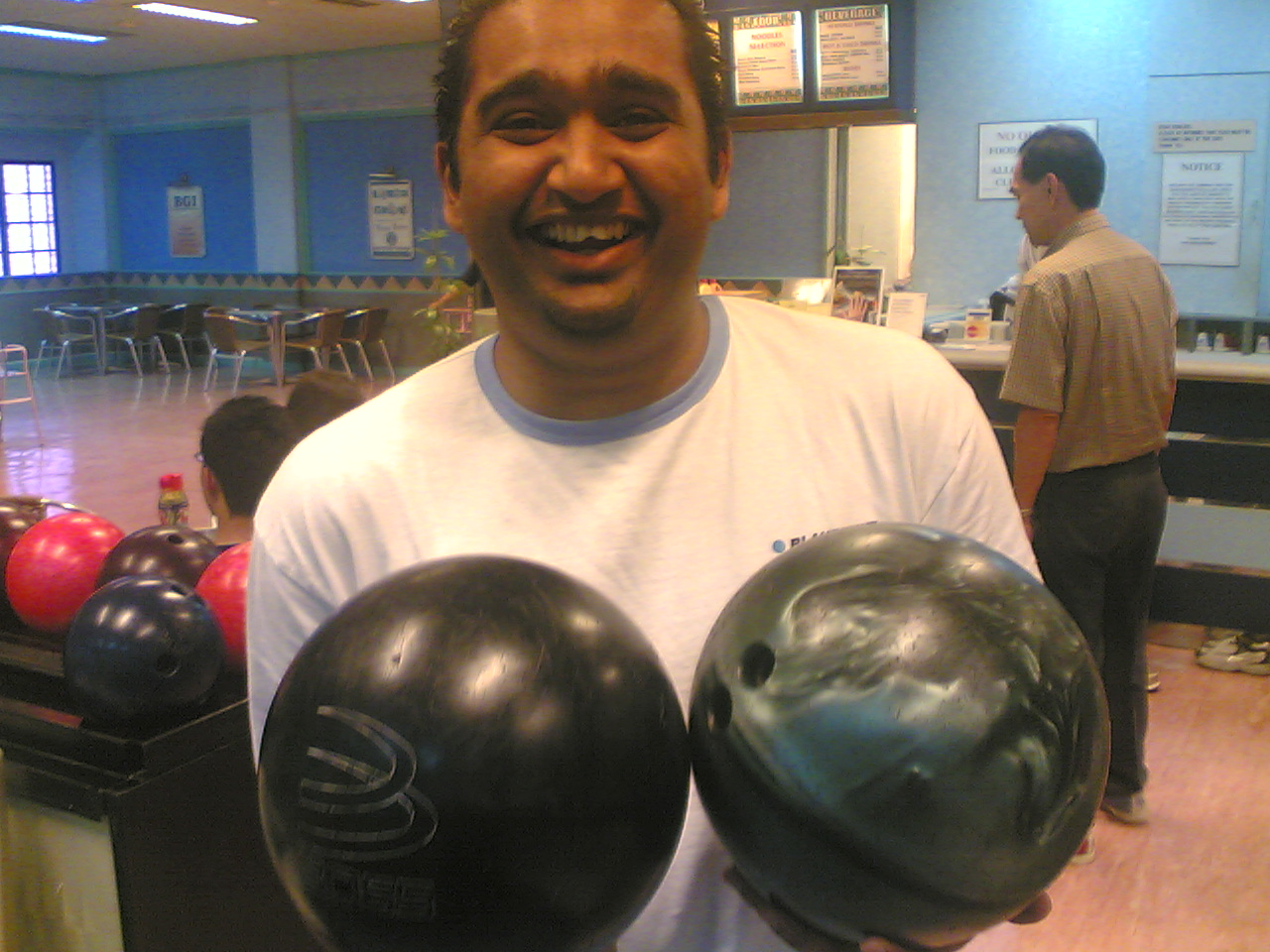 Prakash and his 'balls'