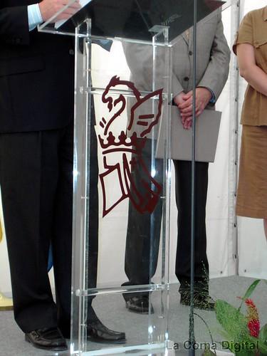 Logo de la Generalitat sin la cuatribarrada