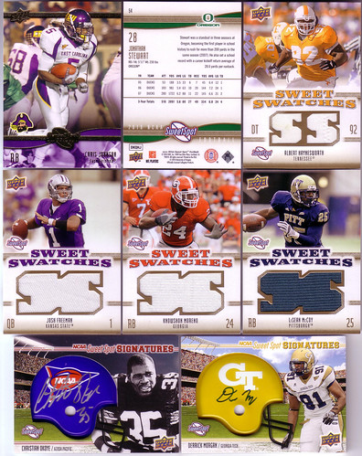 2010 Upper Deck NCAA Sweet Spot