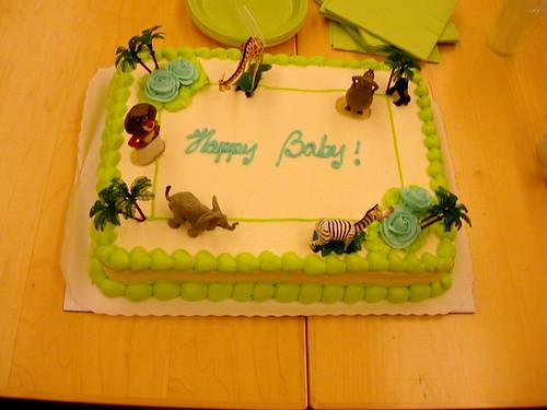 baby cake! yum!