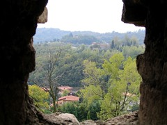 Pieve di Sant'Emiliano vista dal Castello di Padenghe