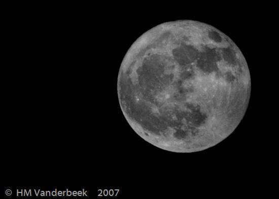 The B&W Full Moon
