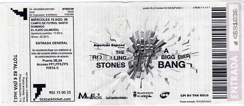 Entrada Rolling Stones El Ejido 06