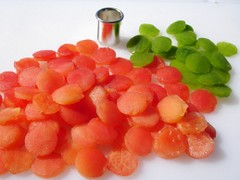 Tomaten-Peperoni-Tarte, Belagsrondellen