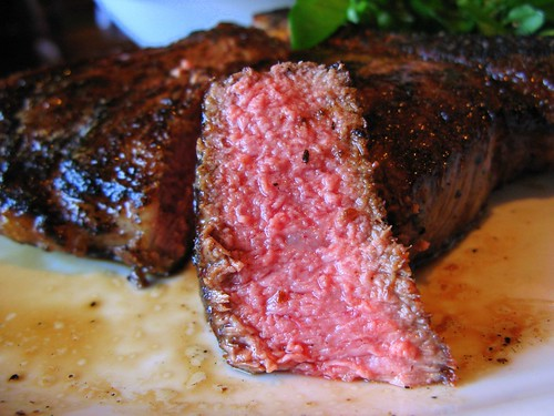 Cowboy Steak Closeup