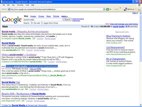 Social-Media-Google-Search