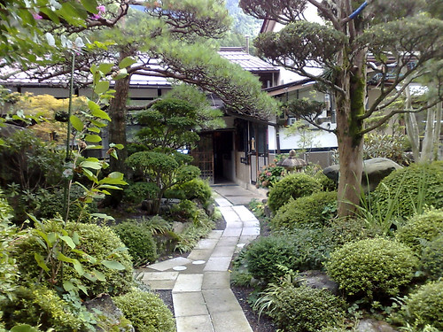Ryokan Garden Path by SW6_Mark.