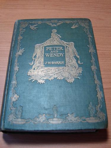 Primera edición del cuento de Peter Pan