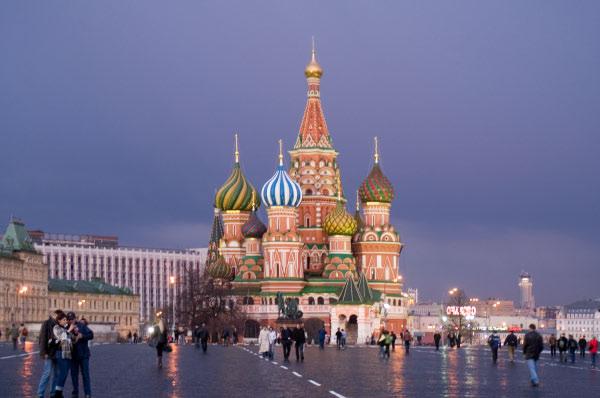 St.-Basilius-Kathedrale Moskau 2006