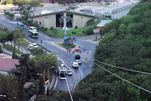 lift service between Eyup and Pierre Loti, Eyup Golden Horn, Istanbul,  Pentax k10d, Haliç