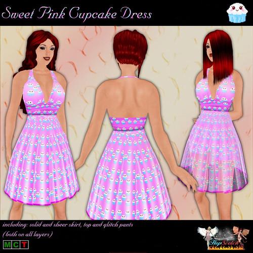 Cupcake Dress pink