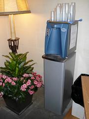 Fontaine à eau du réseau du conseil communal de Lausanne