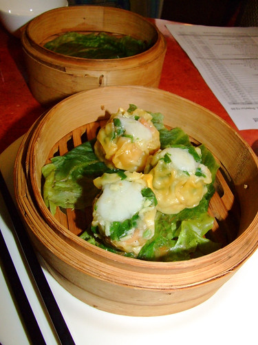 Oriental Expression - yum cha - scallop and vegetable