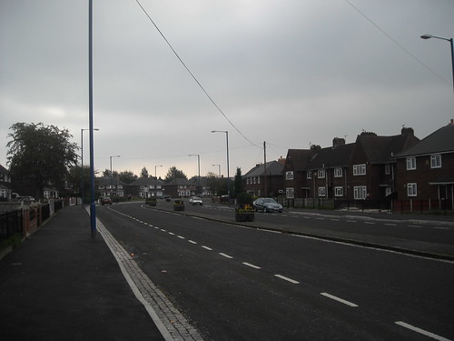 The northern section of the Eastern Bypass, Clayton, Manchester