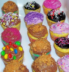 Cupcakes are fun to make.