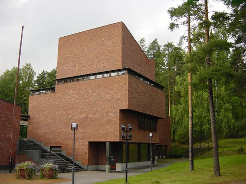 Saynatsalo Town Hall, Alvar Aalto, 1952 by Tim Brown Architecture, on Flickr