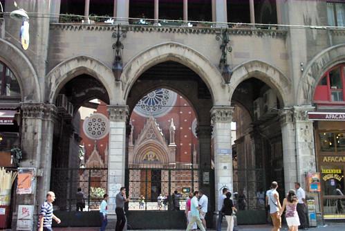 St. Antoine Church, Beyoglu Istanbul, Pentax K10d