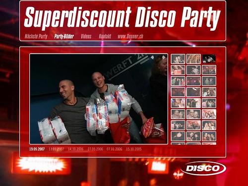 Superdiscount Disco Party
