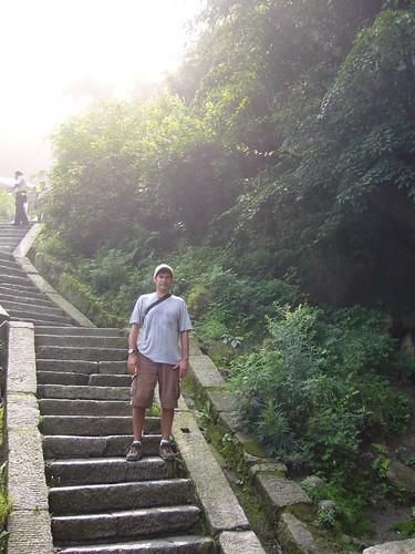 Greg on Huashan