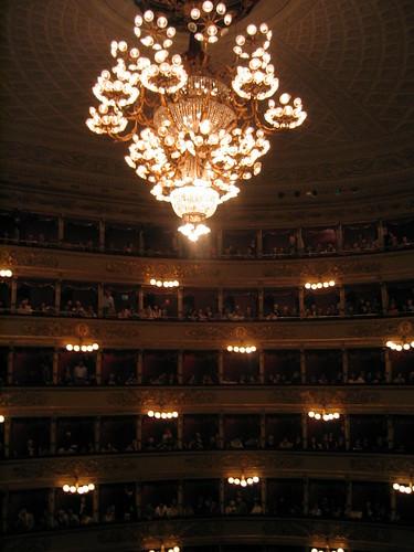 Inside Teatro alla Scala