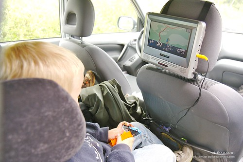 Running the navigation system for the kids