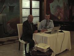 Domingo Escudero, presentando al Director de Aviación Digital