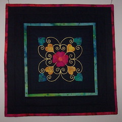 Finished Doll Quilt Swap II Quilt