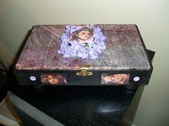 top of box