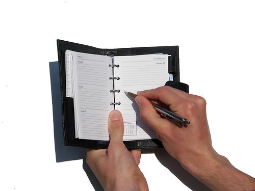 Writing in the Agenda