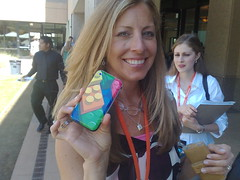 Denise Howell, lawblogger (the back side of iPhone)