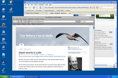 Safari 3 running on Windows