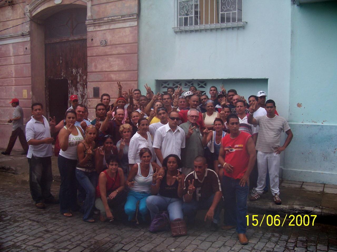 protesta en Camaguey (CUBA)