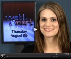 Morgan Webb does Web Alert