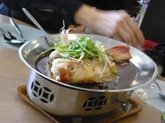 Steamed nila fish Hongkong style