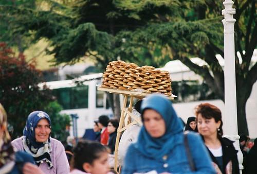 sultanahmet, istanbul, simit