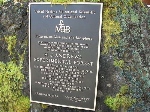 Andrews Forest: Biosphere