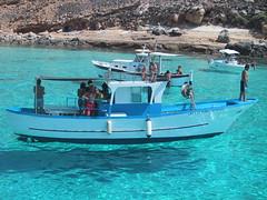 Mare trasparente a Lampedusa