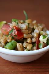 Farro Vegetable Salad