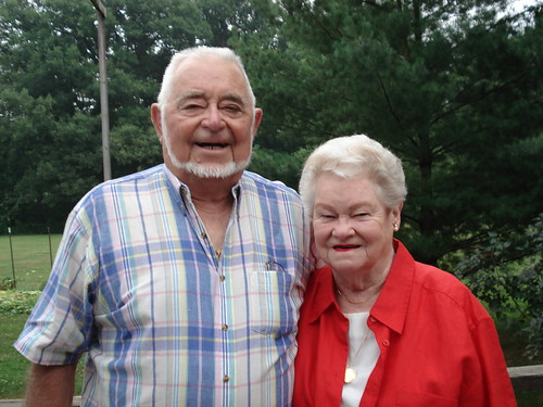 Mom and Dad August 2007