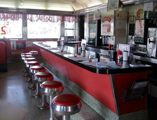 Prospect Diner Interior