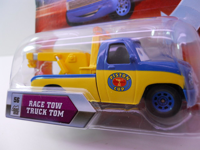 DISNEY CARS KMART COLLECTOR DAY 5  RACE TOW TRUCK TOM (2)