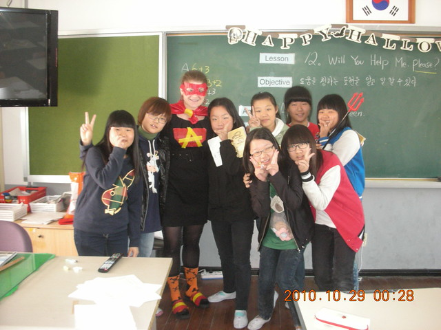 Halloween in School